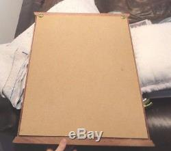 100 Golf Ball Display Case Cabinet Wall Rack Holder -mahogany wood
