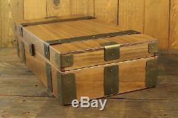 10 Slot Rustic Watch Box Wood Display Case Organizer Jewelry Storage
