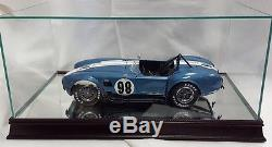 112 Scale Glass and Wood Display Case for Model Cars Diecast Model