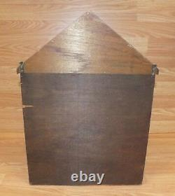 1978 Enesco Imports My Collection Wall Hanging Display Case with Doors READ