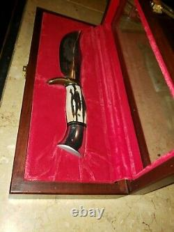 1984 Westmark Western Coleman USA 701 Genuine Stag Hunting Bowie Knife 1 of 2000