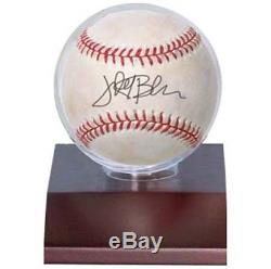 1 case 36 Ultra Pro Dark Wood Ball Baseball Storage Holders Display