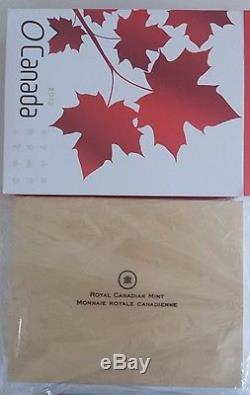 2013 O Canada completed 12 Coins 1/2 oz silver Set in wood Wooden Display Case