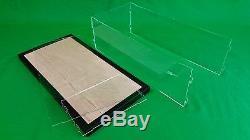 22 x 9 3/4 x 7 Pocher Acrylic Display Case Showcase withWood Base for 18 Model