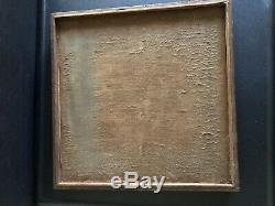 2 Vintage 1900s Pocket Watch Display Case Wood Tray From Jewelry Store