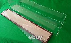 42 Clear Acrylic Display Case for Cruise Ships LGB AND G Scale trains 1/32 1/23