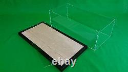 47L x 10W x 15H Table Top Acrylic Display Case for Ocean Liners Cruise Ships