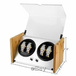 4+0 Watch Winder Display Box Automatic Rotation Watch Winder Watch Storage Case