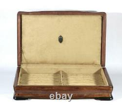 #782 Custom Built Solid Mahogany Fountain Pen Storage Display Chest Hand Crafted