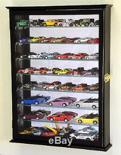 7 Shelves Hot Wheels Matchbox Diecast Cars 1/64 1/43 Model Display Case Cabinet