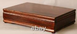 #832 Hand Crafted Fountain Pen Storage Custom Built Solid Mahogany Display Chest