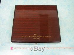 Authentic Vintage 1868 Iw C Watch Wood Box Display Case