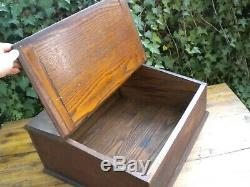 Antique General Store Counter Pine Wood Display Case Chewing Tobacco Ammo Knives