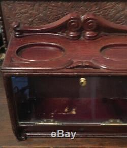 Antique Shop Counter Display Case Cabinet by Roger Alpin Dublin Tobacconist