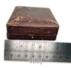 Antique Vintage, British Goldsmiths Company Jewellery Case Display Box