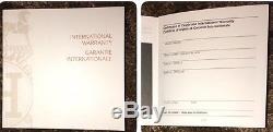 Auth HERMES Wood PRESENTATION Storage DISPLAY CASE WATCH BOX, MANUAL & WARRANTY