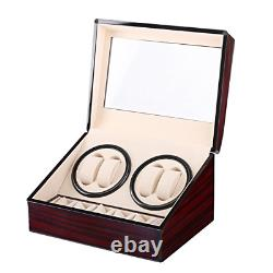 Automatic Watch Winder Box Watches Storage Display Winding Case