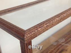 Blue Ridge Models Custom Wood Display Case for Models