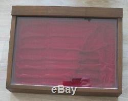 Buck Knives Fine Wood Display Case