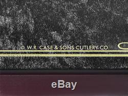 CASE XX 18 Lockable Cherry Wood Knife Display for Collectable Pocket Knives