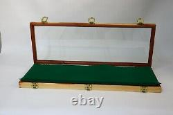 Cedar Wood Display Case 9 x 25 x 2 for Arrowheads Knifes Collectibles & More
