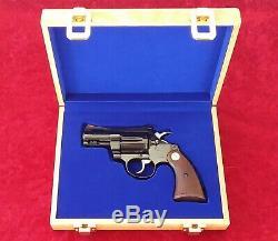 Colt Diamondback Revolver Oak Wood Presentation Case Wooden Display Pistol Box