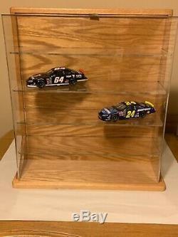 Danbury Mint 10 Car Oak Wood Display Case For 124 Scale Diecast Nib