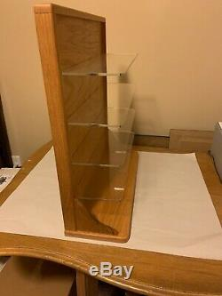 Danbury Mint 10 Car Oak Wood Display Case For 124 Scale Diecast Used