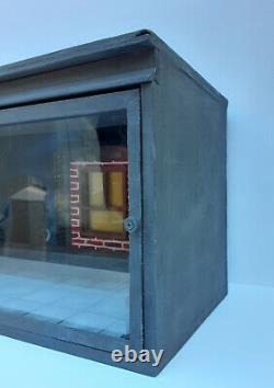 Display Case Rooftop Diorama 112 scale, for 6 8 inch Action Figures