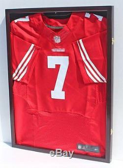 Display Case Shadow Box Ultra Clear Pro UV Solid Wood Jersey Protection Frame