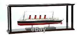 Display Case for Ocean Liner Cruise Ship 40 Wooden Display Case