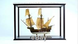 Display Case for Tall Ship, Tugboat Model 32 with Plexiglass