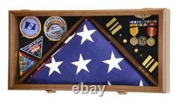 Flag Pins Medals Insignia Patches 3x5 4x6 5x9 Flags Display Case Shadowbox Box