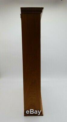 Franklin Mint The Wizard of Oz Portrait Sculpture Display Case Wood / Glass 1988