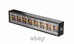 Funko POP! Eight (8) Pop Display Case Acrylic & Wood Exclusive! In HAND