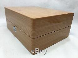 GENUINE OMEGA Wood box case link watch Display Speedmaster Seamaster 0303282