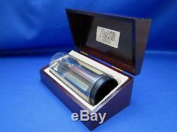 GILLETTE VTG ATRA/ACTAS Cartridge Type Razor WOOD DISPLAY CASE/HANDLE UNUSED