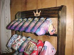 Golf Club 28 Putter Headcover New Wood Display Rack Case for Rare Scotty Cameron