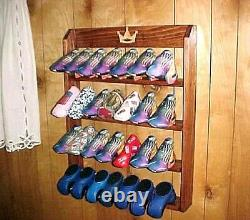 Golf Club Putter Head covers Solid Wood Display Rack Case for 28 Scotty Cameron