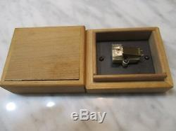 Grace F-8m Cartridge And Rare Genuine Grace Level-ii Stylus In Wood Display Case