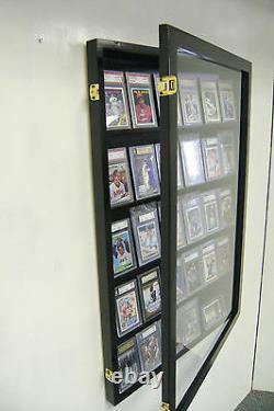 Graded Sports Card Display Case 30 PSA Deep