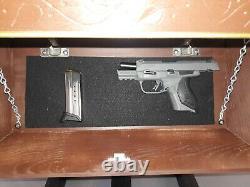 Gun Cabinet Hidden Gun Storage Wall Shelf NEW 24x12