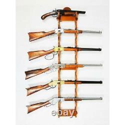 Gun Holder Soft Gun Carrying Case Portaspade IN Wood 12 Places By Denix Displays