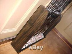 Hand Made USA Wood Floor Rack Case Display Up To 14 Golf Clubs Set Irons Putters