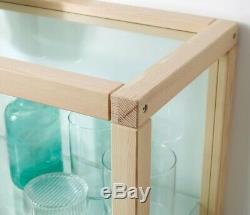 IKEA x VIRGIL ABLOH Glass-Door Cabinet Pine Display Case MARKERAD Off White Art