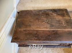 J&P Coats Spool Cabinet Drawers Wood Hand Cotton