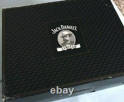 Jack Daniel's Gold Medal Wood Display Shadow Box Glass Topped Case NO Medals New