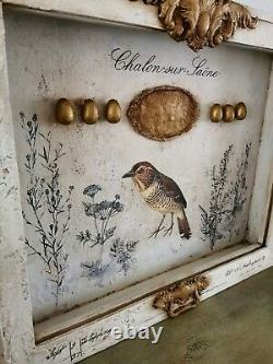 Large Shadow Box Bird