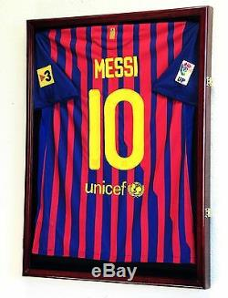 Large Sports Jersey Shadow Box Wall Display Case Rack Jersey Frame 98% UV