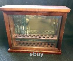 Levenger 20 Pen Wood and Glass Display Case, Unusual and Lovely